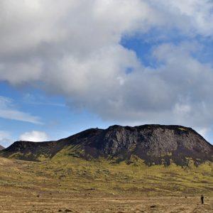Stóra-Eldborg undir Geitahlíð.
